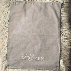 Shoe dust bag - Alexander McQueen